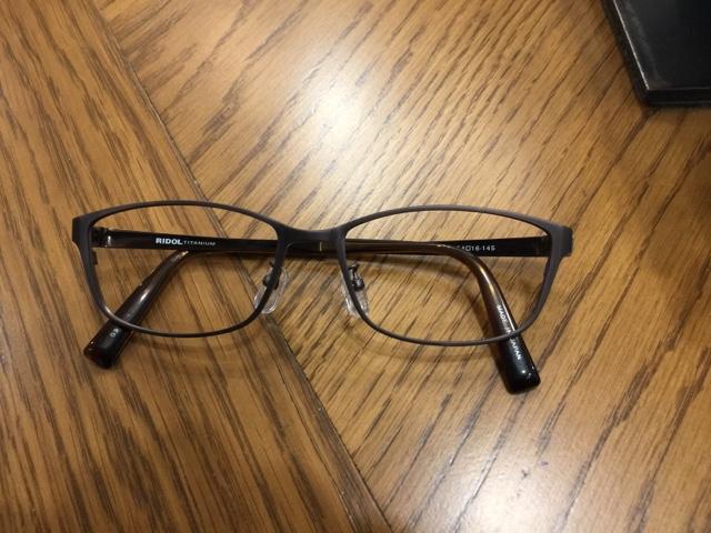 中1 kさんのメガネ