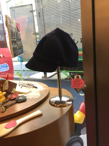 西島眼鏡定番帽子レキップ