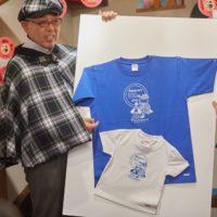 子供Tシャツ、大人Tシャツで、受け継がれていくことを表現。